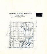 Madrona Crest Addition - Sheet 2, King County 1945 Vols 1 and 2